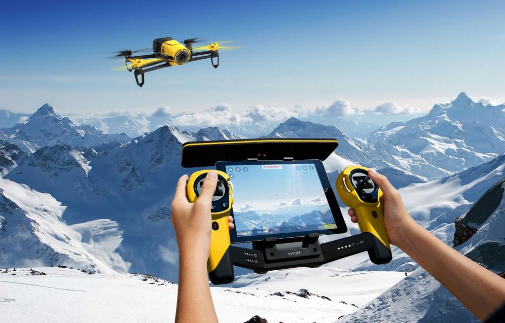 Parrot-Bebop-Quadcopter-Drone